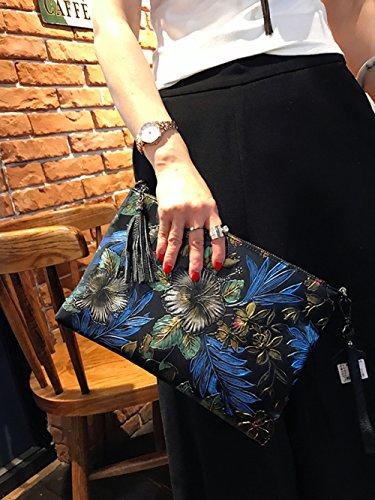 À Multi Dames en Sac Imprimer Fleur Cuir Femme Mode Épaule Grande Enveloppe colored1 GZHGF Sac Capacité Simple Main pdqxa664