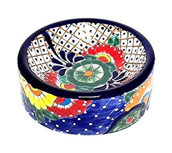 Mexican Talavera Bowl with Handle  sc 1 st  Amazon UK & Mexican Talavera Bowl with Handle: Amazon.co.uk: Kitchen \u0026 Home