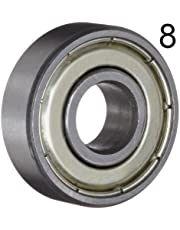 BC Precision 8BC608ZZ Eight (8) 608ZZ 8x22x7 Shielded Greased Miniature Ball Bearings