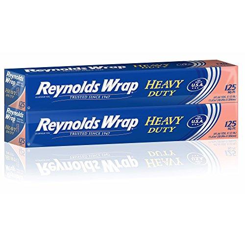 (Product of Reynolds Wrap Heavy-Duty Foil Wrap, 2 pk./125 sq. ft. - Plastic Wrap & Foil [Bulk Savings])