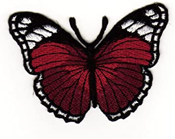 Parche plancha de planchar Iron on patches applikation mariposa Falter Butterfly Niños Baby
