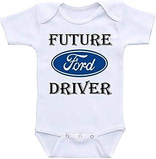 905d4cb08 Amazon.com: TallyWear USA Ford thats how i roll onesie Romper: Clothing