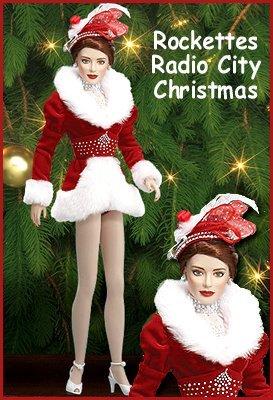 Franklin Mint Rockettes Radio City Christmas Spectacular Vinyl Doll]()