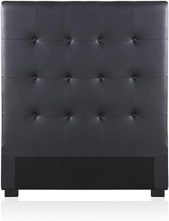 Intensedeco Tête De Lit Capitonnée Premium 90cm Noir Amazon