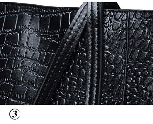 cuir Sacs à cuir en de pour véritable femmes style luxe Sacs Grey de à bandoulière main en TrqAnPxW6T