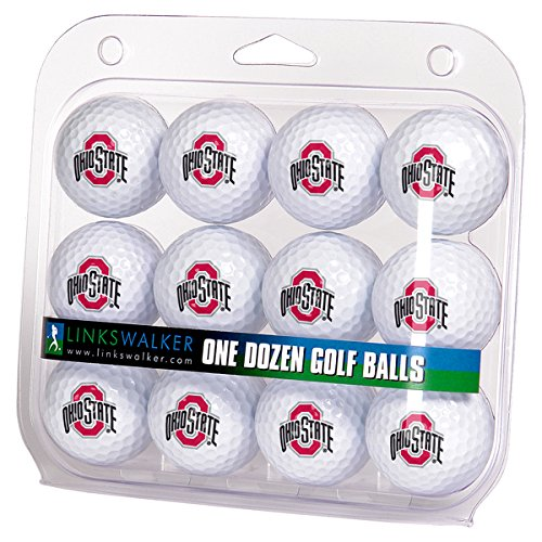 NCAA Ohio State Buckeyes - Dozen Golf - Ncaa Balls Golf Ball Logo
