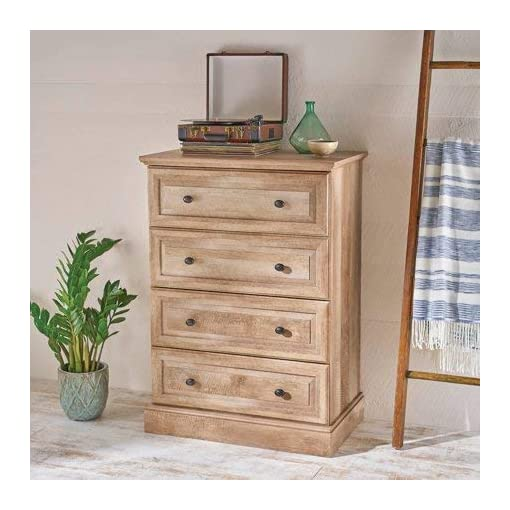 Bedroom Better Homes and Gardens Crossmill 4-Drawer Dresser (Weathered) dresser