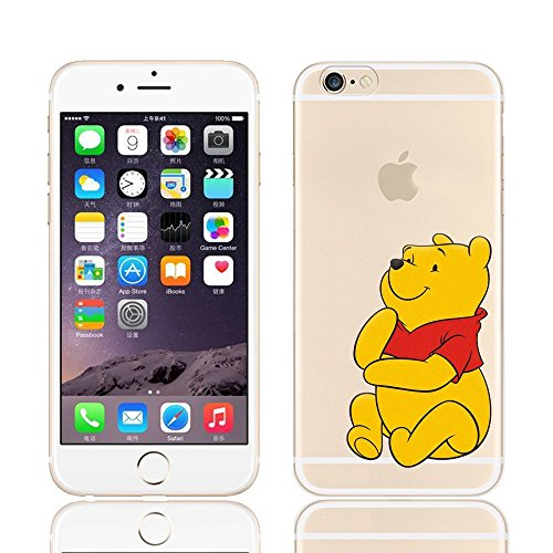Disney Winnie The Pooh & Friends Transparent TPU Soft Case For Apple iPhone 7 Plus WINNIE