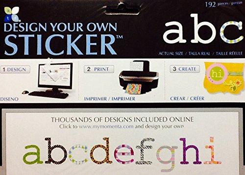 Alphabet Print Design - 6