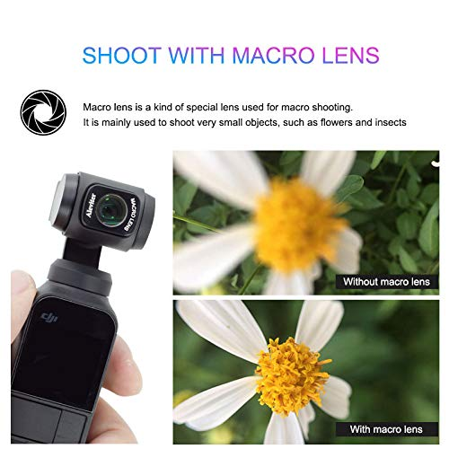 Leoie Macro Lens for OSMO Pocket Magnetic Camera Accessories by Leoie