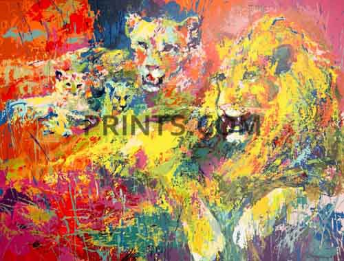 LeRoy Neiman - Royal Family Open Edition Serigraph on Paper