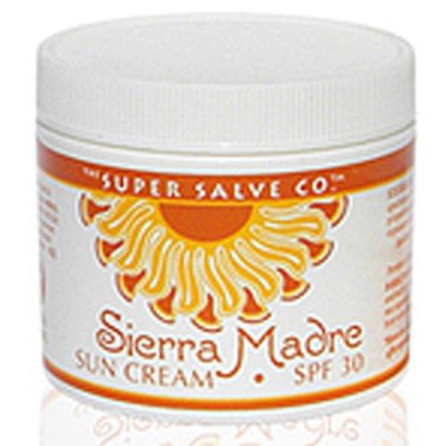 Coconut Sun Protection Cream - Sierra Madre Sun Cream SPF 30 6 oz