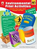 Environmental Print Activities, Grades Pk - 1, Maureen Walcavich, 1594414858