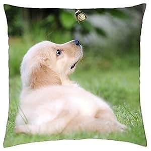 Dog - Throw Pillow Cover Case (18
