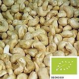 1kg ganze Bio Cashewkerne, versandkostenfrei (in D), Cashew Nüsse unbehandelt und ohne Zusätze aus kontrolliert biologischem Anbau