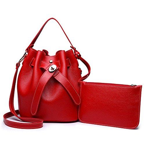 Sauvage Sac Portable Bag Mode Messenger Seau Simple Vert À Nouveau Red Meaeo Sac Bandoulière qPwIxEtz