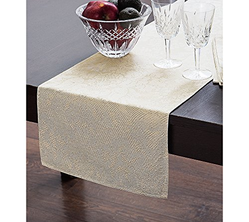 Waterford Berrigan Table Runner Gold 14 x 90 by Waterford