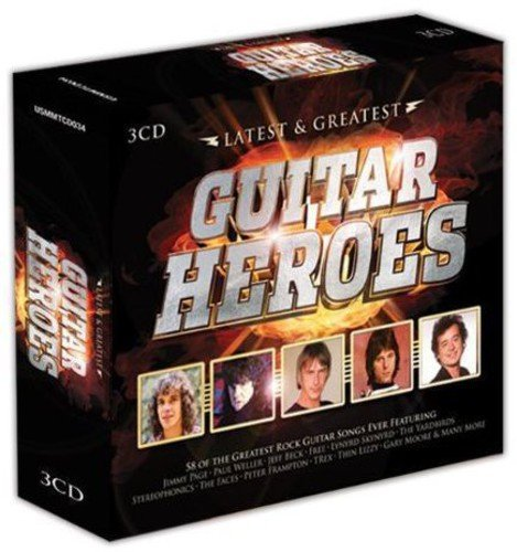 Price comparison product image Guitar Heroes-Latest / Various