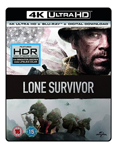 Lone Survivor [4K UHD Blu-ray + Blu-ray + UV Copy] [2013]