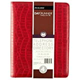 Day Runner 2016 Desk 4-3/4 x 8 5-3 x 8-11/16 Inches Telephone/Address Book (90-1541378)