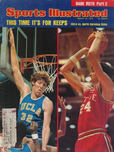 Sports Illustrated Magazine March 25, 1974 (Vol 40, No. 12) (Bill Walton) -