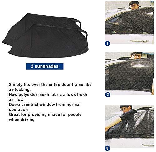 Sonnenblende Sonnenschutzrollo Auto Accessories Kinder UV Sonnenschutz Autos 2 St/ück Sonnenschutz Auto Baby mit UV Schutz 40 x 20 Inch Auto Sonnenschutz Autofenster Seitenfenster Windowsox