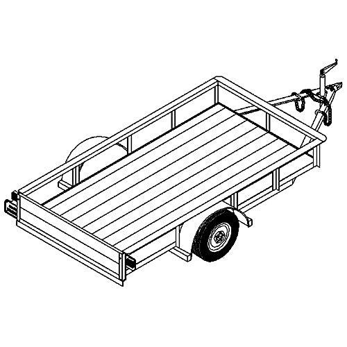 4x8 utility trailer - 5