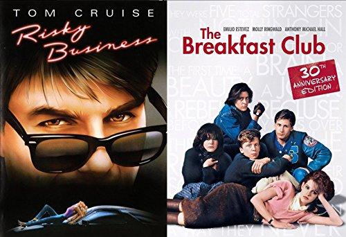 Risky Business + The Breakfast Club... DVD Fun Comedy 80's Teen movie Set