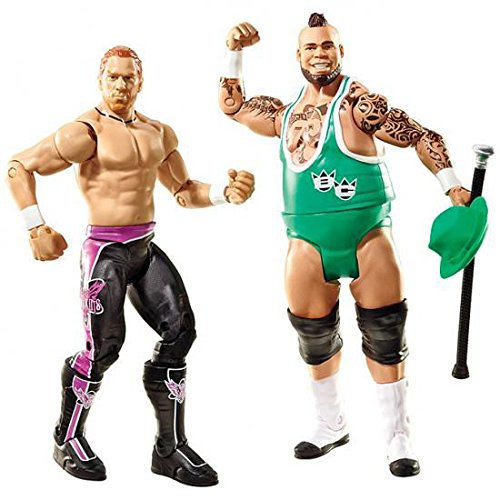 WWE Series 20 Battle Pack: Curt Hawkins vs. Brodus Clay Figure, 2-Pack by WWE