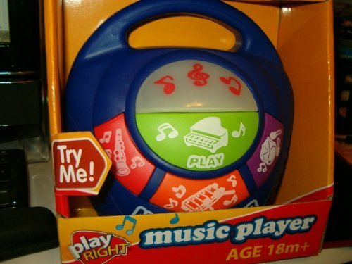Play Right Music Player, For Children 18 Months and Older