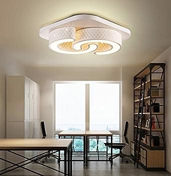Style home® 24W LED Modern Design Deckenleuchte Deckenlampe ...