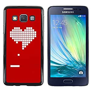 Slim Design Hard PC/Aluminum Shell Case Cover for Samsung Galaxy A3 SM-A300 Pc Game Gamer Girlfriend Love Valentines / JUSTGO PHONE PROTECTOR