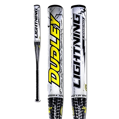 Dudley Lightning Legend End Load 13 inch Barrel Senior Slow Pitch Bat 34 length 26 ounce by Dudley