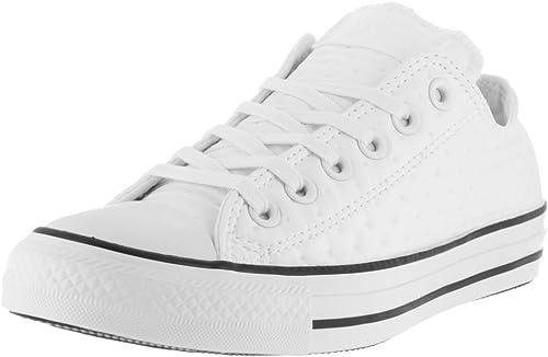 Converse Chaussures De Sport A La Mode Couleur Blanc White