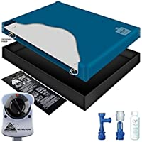 60% WAVELESS WATERBED MATTRESS / LINER / HEATER / FILL DRAIN / CONDITIONER KIT (Queen 60x84 1SF-1G2)