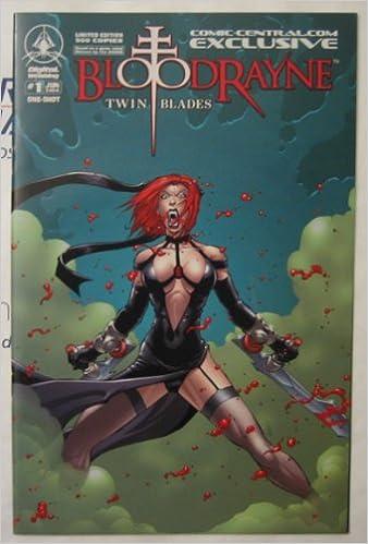 Bloodrayne Twin Blades 1B 2006 VF 8.0 Stock Image