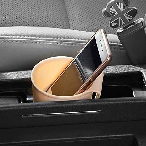 sospeso a presa di aerazione Portabicchieri universale per auto colore: beige Beesclover supporto di montaggio per porta di bottiglia scatola multifunzionale
