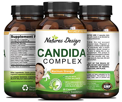 Natural Candida Cleanse Supplement Probiotic