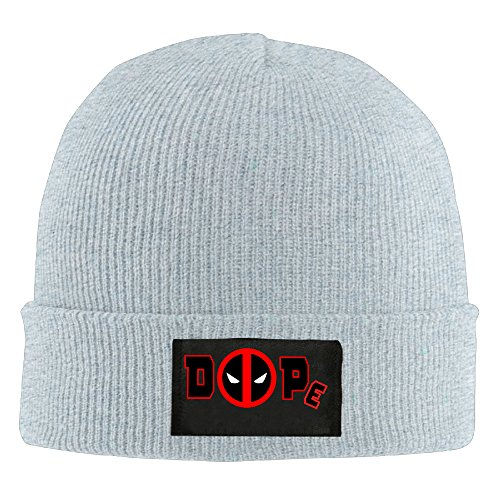 Anaheim Team Watch - Unisex Dope Deadpool Acrylic Beanies Ash