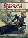 capa de Dungeons E Dragons. Guia De Campanha De Forgotten Realms
