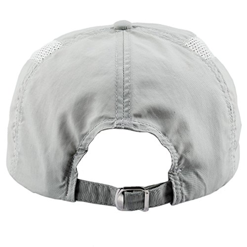 Samtree Baseball Caps for Women,Foldable Ultra Thin Weightlight Sport Sun Hats(Style 2-Light Grey)