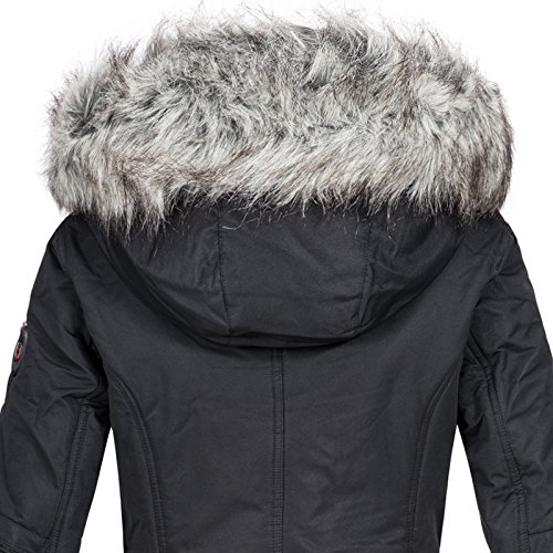 Manteau Noir Geographical Femme Geographical Norway Norway fwqTxWaWCY