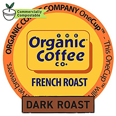 The Organic Coffee Co. OneCup, 80 Count from AmazonUs/COMJK