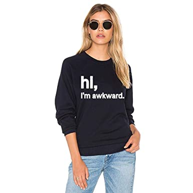MITIY Women Sweatshirt Hoodie Sweatshir WomenMITIY Loose Letter Pullover T Shirt Long SleeveBlouse