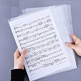 L-Type Plastic Folder Safe Project Pockets