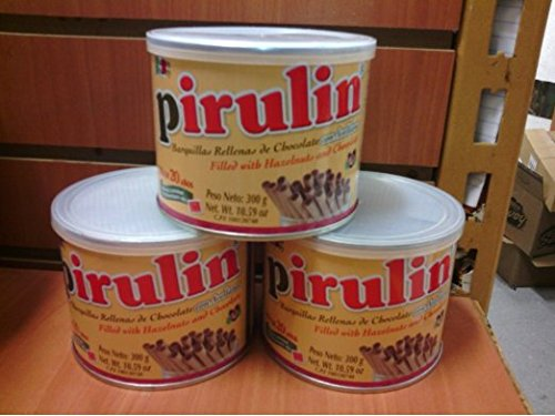 Pirulin Wafer Filled with Hazelnut and Chocolate (3 Pack/300 gr)