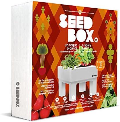 SeedBox SBCOME - Huerto Urbano de canónigos y Espinacas (Colección ...