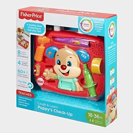 Fisher Price Laugh and Learn Puppy's Check-Up Kit Play Tools at amazon