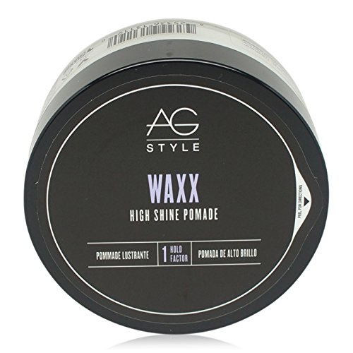 High Shine Finish (AG Hair Style Waxx High Shine Pomade 2.5 fl. oz.)