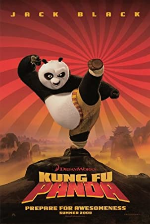 Amazon.com: Kung Fu Panda 27 x 40 Movie Poster - Style A: Lithographic  Prints: Posters & Prints